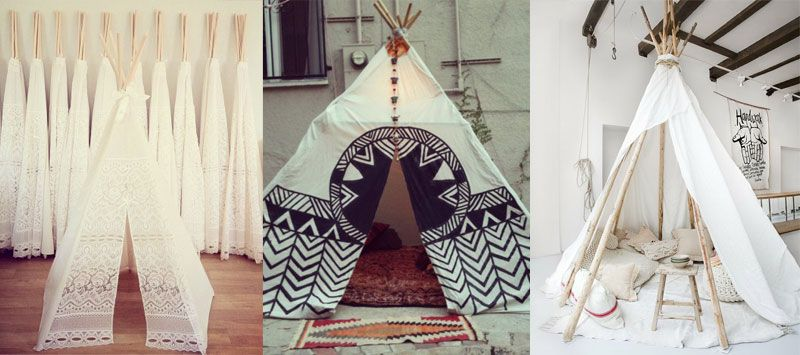 moline mercerie fabriquer un tipi indien pour enfants tipi pinterest tipi. Black Bedroom Furniture Sets. Home Design Ideas