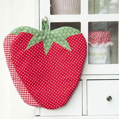 Jordbærgrydelapper