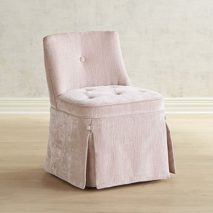 Incredible Pier 1 Imports Candace Blush Vanity Stool Vanity Stool Caraccident5 Cool Chair Designs And Ideas Caraccident5Info
