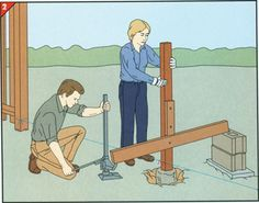 Removing The Old Post And Many Other Ideas For Fixing Common Fence Problems Diy Fence Diy Repair Fence