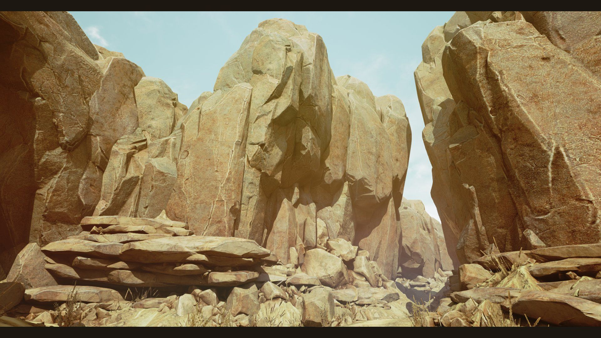ArtStation - [UE4] Arid Desert Environment , Tris Baybayan