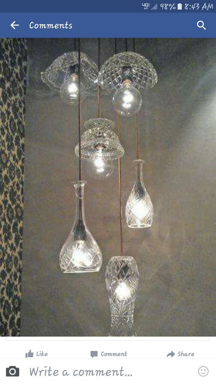 Make your own crystal chandelier inspiring ideas pinterest make your own crystal chandelier mozeypictures Choice Image