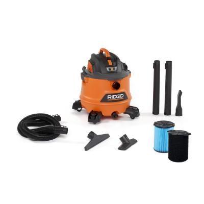 Ridgid 14 Gal 6 0 Peak Hp Nxt Wet Dry Shop Vacuum With Fine Dust