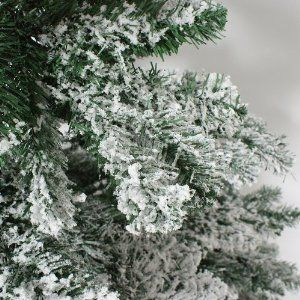 Vickerman Flocked Alaskan Christmas Trees