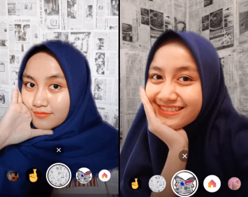 Pin di Filter Instagram Terbaru & Kekinian (2020)