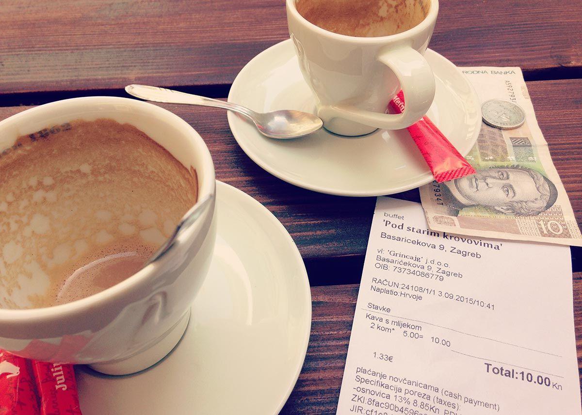 Croatian Cafe Culture Zagreb Honestly Croatian Cafe Croatia