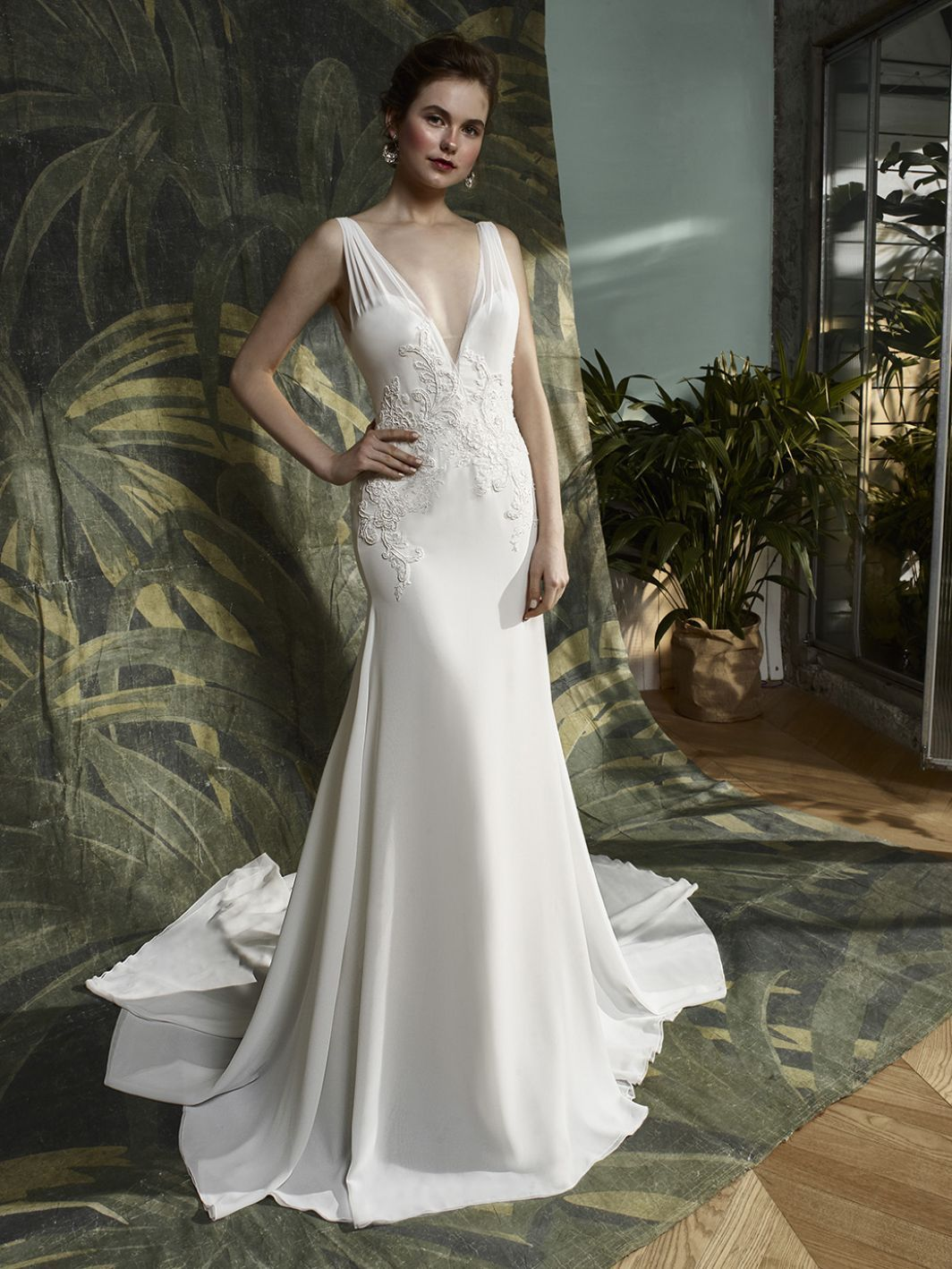 Kinsley front blue by enzoani collection pinterest