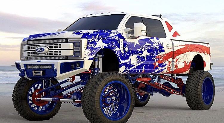 2019 Lifted Ford Wrapped Jacked Up Trucks Lifted Ford Trucks
