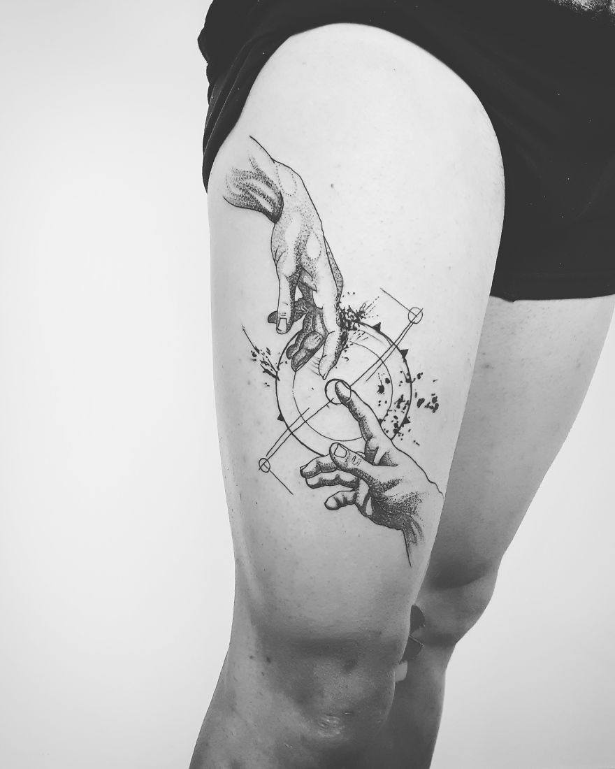 Tattoo Mädchen Colorful And Sketchy Tattoos By Vesna Fun Pinterest Tattoo