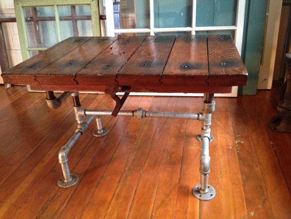 Reclaimed Wood Furniture Coffee Table By Hammerheadcreations
