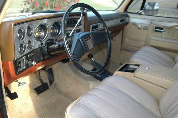 Photo Charisma 1983 Gmc Suburban 4x4 Truck Interior Gmc Suburban