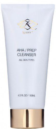 Karens AHASkin Prep Cleanser  Natural Facial Cleanser *** Click image for more details.