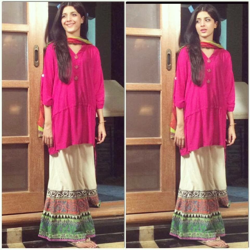 Simple dress styles pakistani