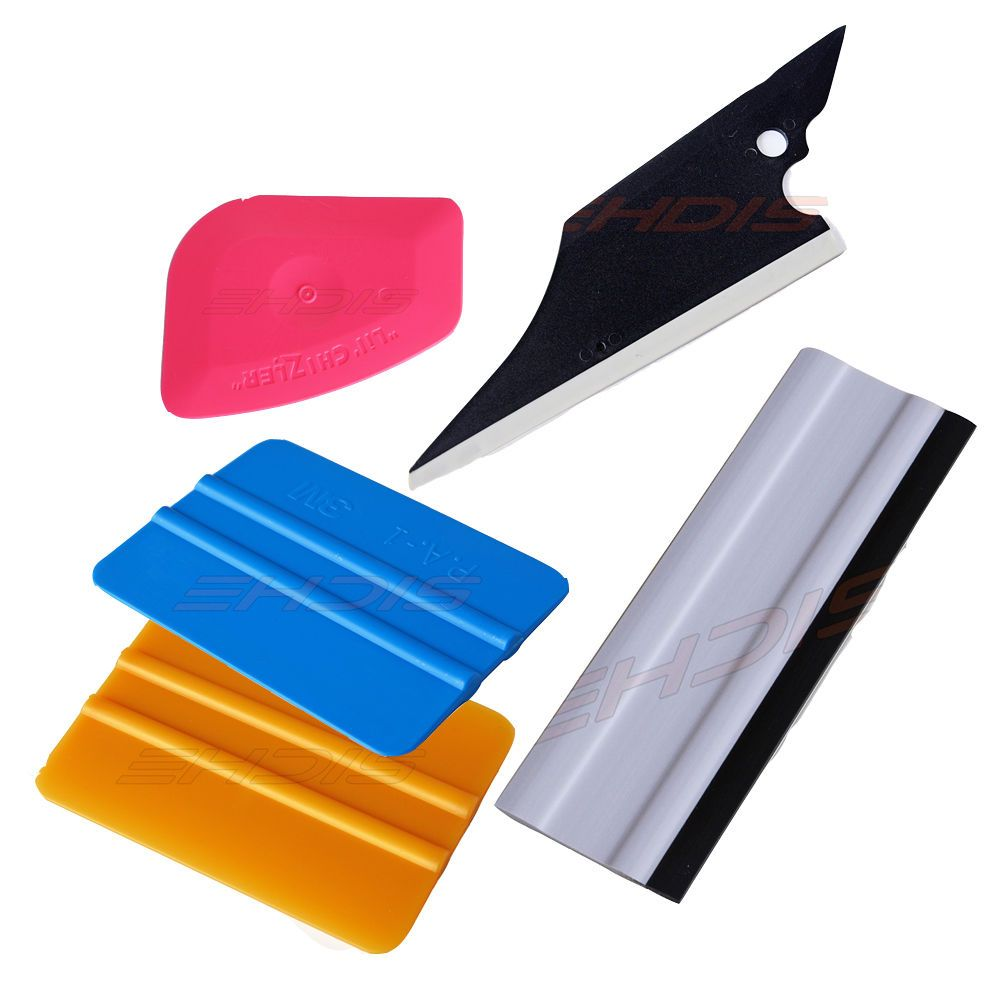 Plastic Cutter Knife Window Tinting Wrap Film Car Squeegee Decal
