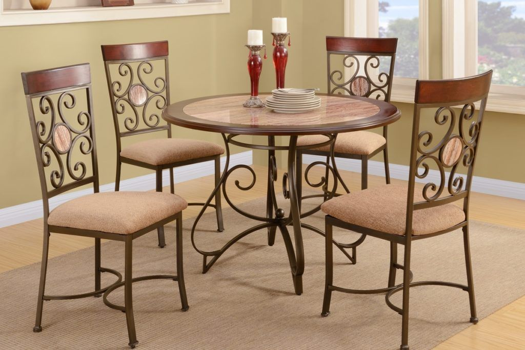 Room Metal Frame Dining Chairs