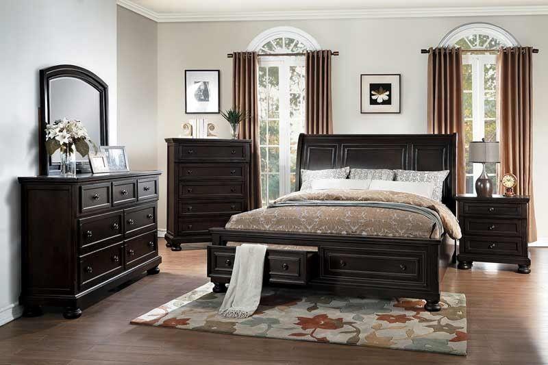 Homelegance  Begonia 5 Piece California King Bedroom Set Adorable Cal King Bedroom Sets Decorating Design