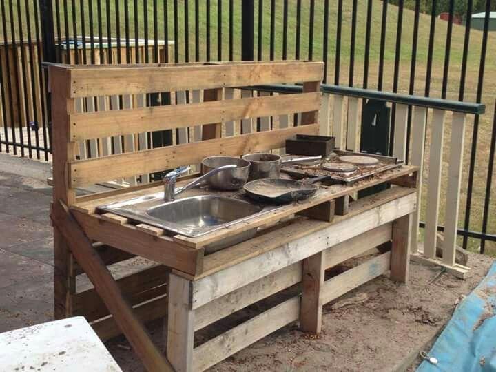 Mud Kitchen Błotna Kuchnia W 2019 Place Zabaw Kuchnia I