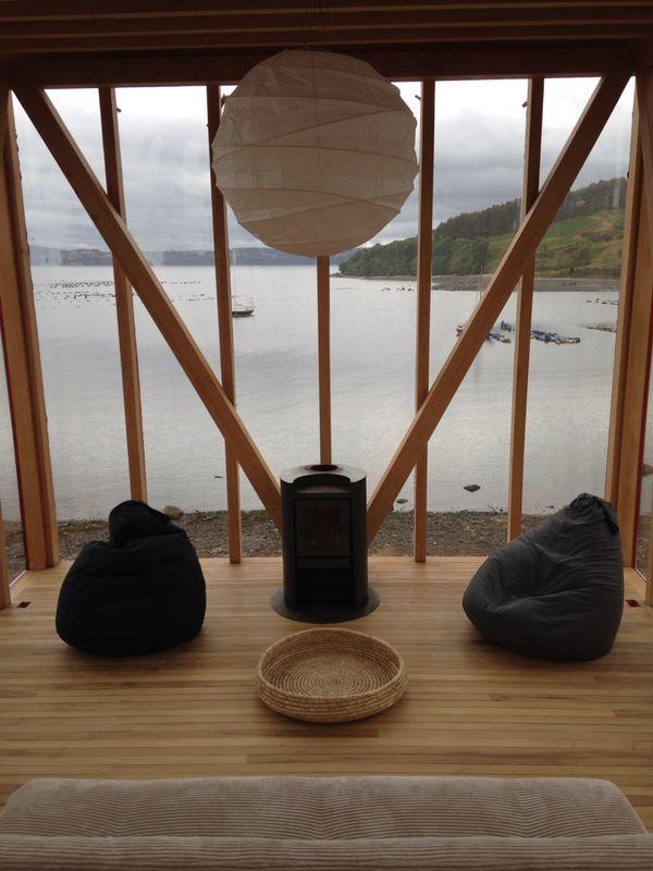 Refugio en la Isla Lebe Rilan Chiloé