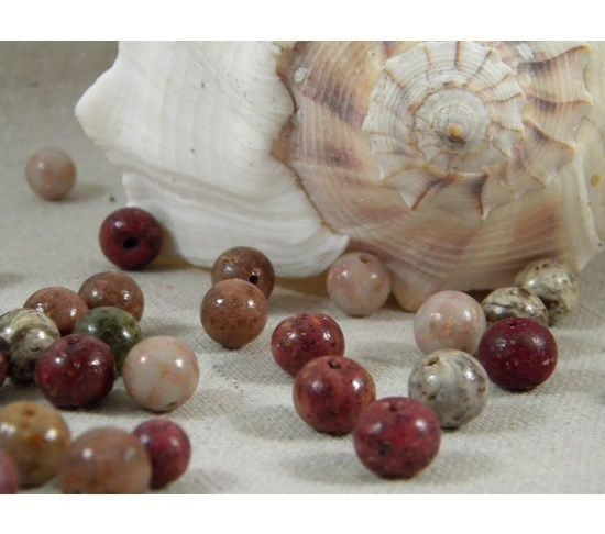 Memory Beads made from your flower petals. Loose Beads for ...