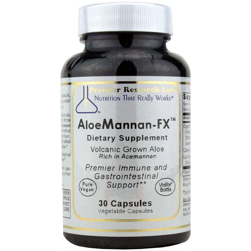 Premier AloeMannanFX 30 Caps / Bottle by Premier Research
