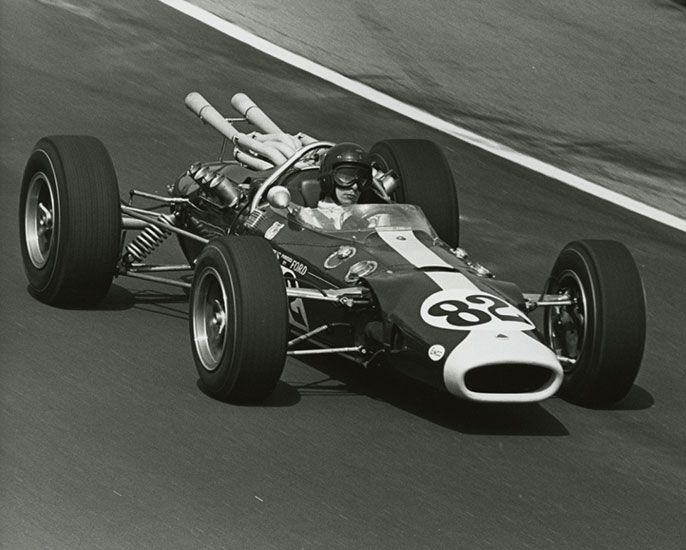 1965 Lotus Ford Race Car Racing Lotus Car Race Cars