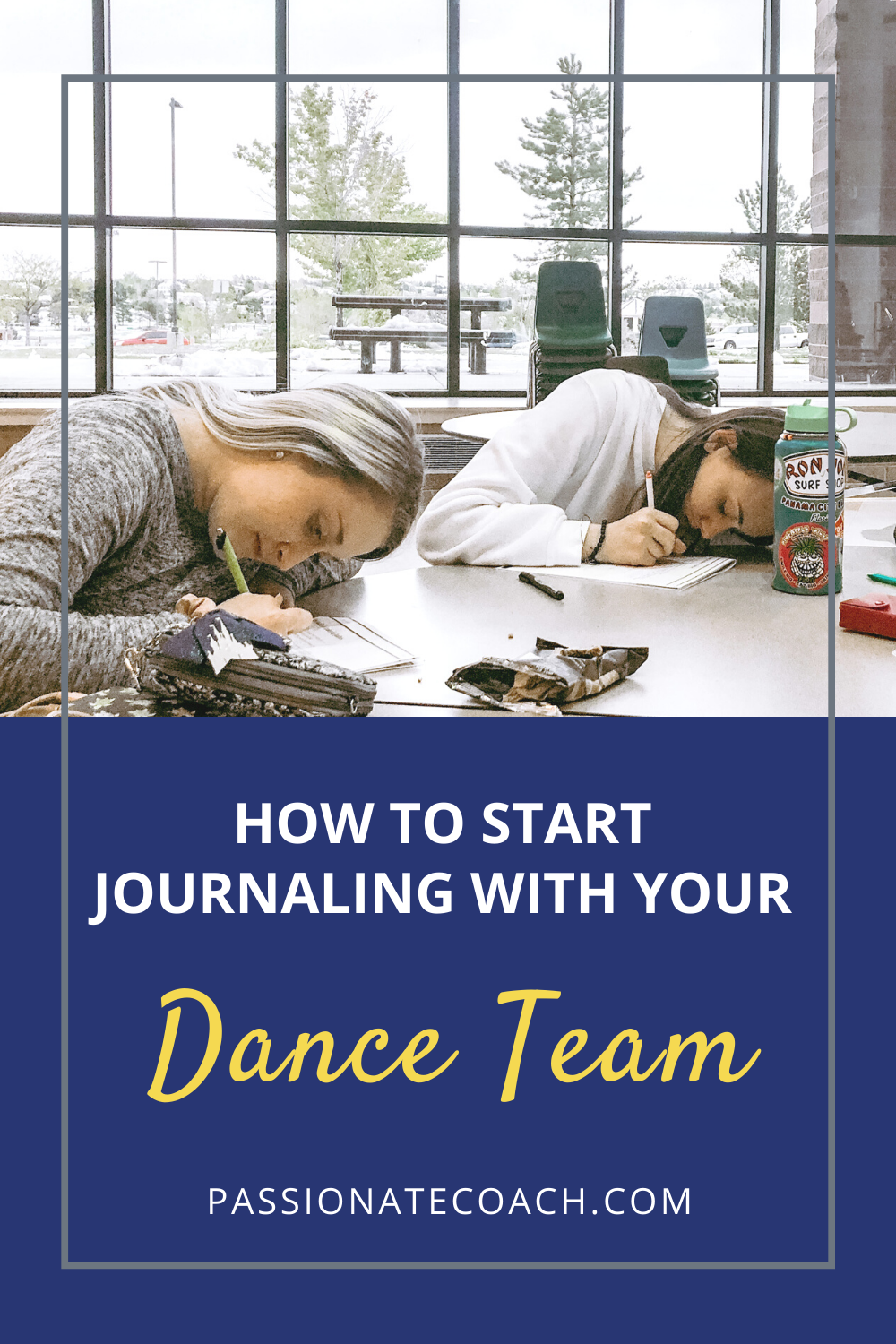 How To Start Journaling With Your Dance Team Passionate Coach Dance Teams Dance Coach Coaching Skills