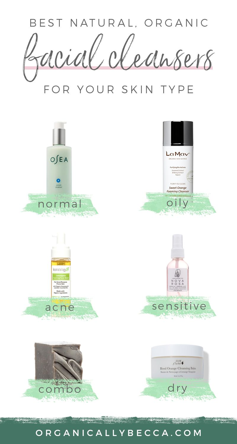 The Best Organic Facial Cleansers Organically Becca Organic Facial Cleanser Skin Cleanser Products Organic Face Wash