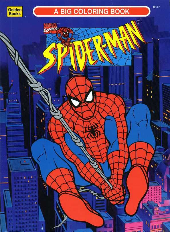 coloring book | Spider-Man | Pinterest | Coloring books, Spider-Man ...
