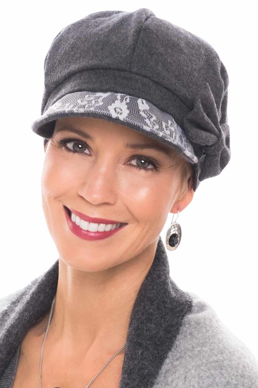 Lace Nora Newsboy Cap Cancer headwear, Newsboy cap, Newsboy