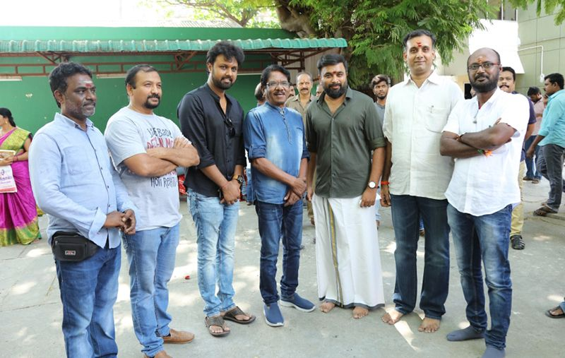 "Kalpataru Pictures' ""Production No.3"" featuring Sasikumar in lead"