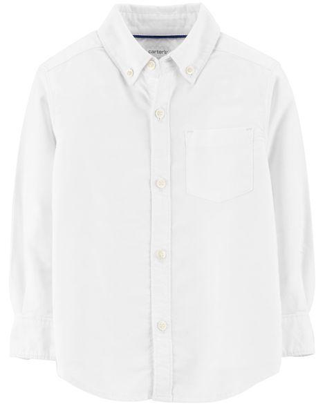 294dd92ecae15 Button-Front Uniform Shirt