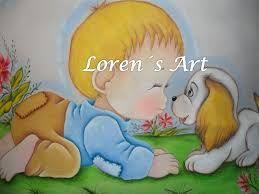 Resultado De Imagen Para Motivos Infantiles Para Pintar En Tela