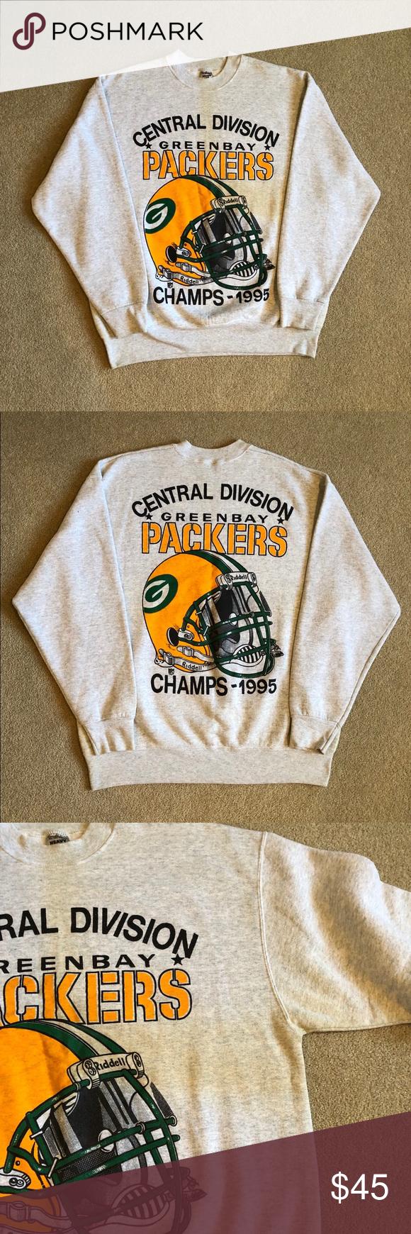 Vintage 1995 Green Bay Packers Sweatshirt Men S L In 2020 Sweatshirts Green Bay Packers Sweatshirt Packers Sweatshirt