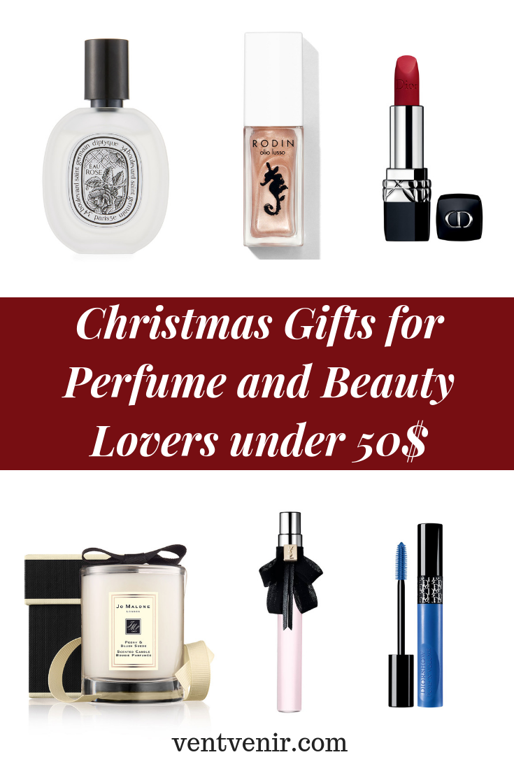 1c11b4fa43b3a Christmas Gifts for Perfume and Beauty Lovers. under 50  Christmas Gifts  Ideas 2018.