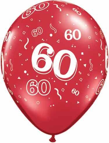 60th Birthday Balloons Anniversary Party 60 Years Birthay Graduation Celeb