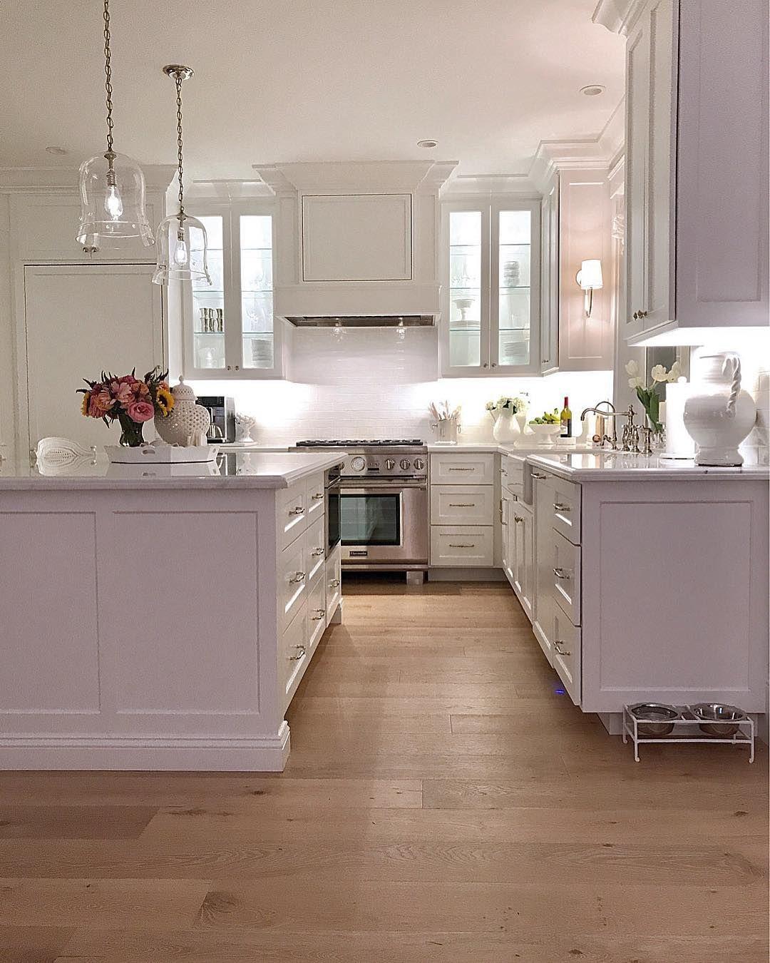 Bright White Kitchen Design Photokristy Wicks Kristywicks Best What Is New In Kitchen Design Inspiration