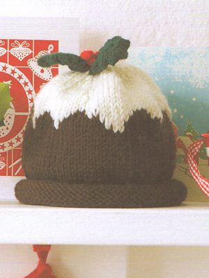 Christmas Pudding Hat Debbie Bliss Crafty Crafting Pinterest
