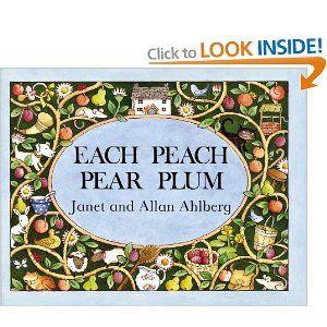 Each Peach Pear Plum Viking Kestrel Picture Books: Amazon.co.uk: Janet Ahlberg, Allan Ahlberg: Books