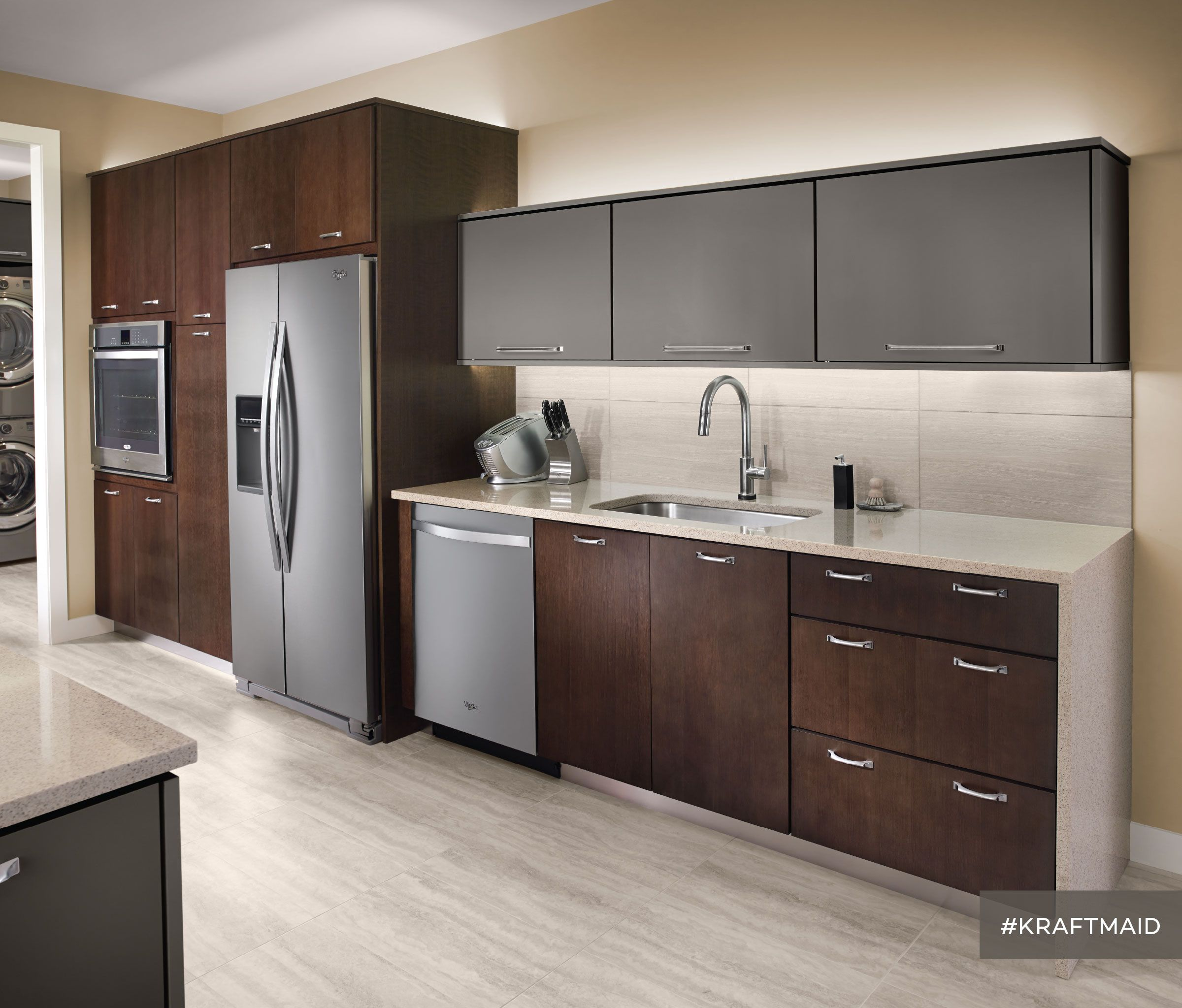 Cherry Kitchen Cabinet Doors: This Kitchen Features Quartersawn Cherry Cabinet Doors