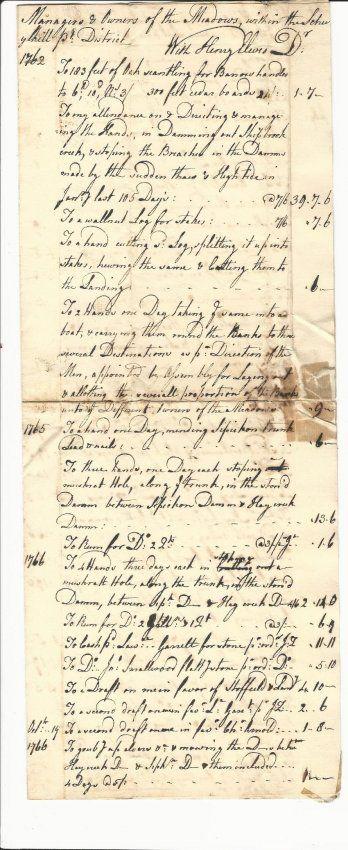 1767 Ledger Philadelphia Schuylkill : Lot 536