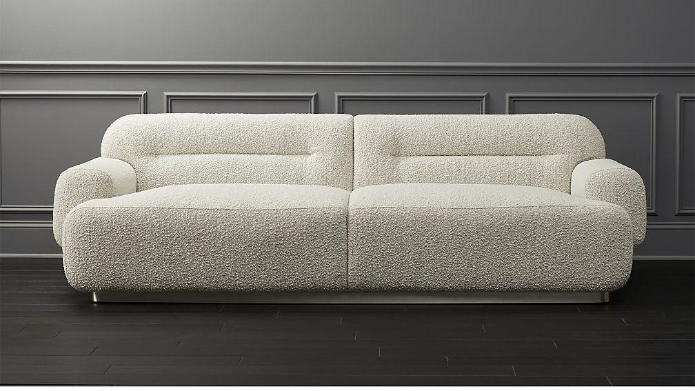 Logan Grey Boucle Sofa in 2019 | Sofa furniture, Sofa ...