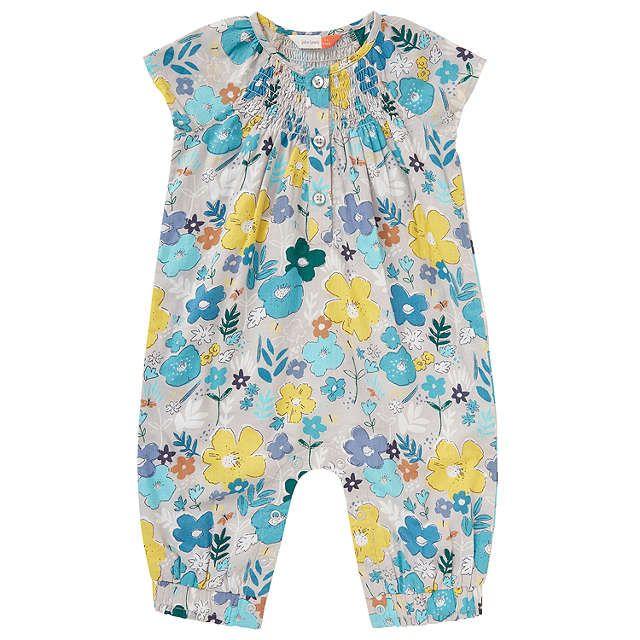 John Lewis Baby Floral Romper Playsuit, Multi   John lewis ...
