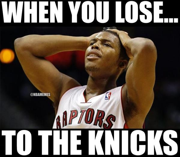 The Toronto Raptors​ are on a 5-game losing streak. #Knick - http://nbafunnymeme.com/nba-memes/the-toronto-raptors%e2%80%8b-are-on-a-5-game-losing-streak-knick