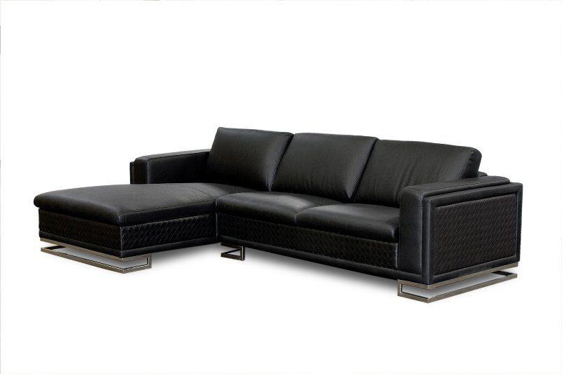Modern furniture White Leather