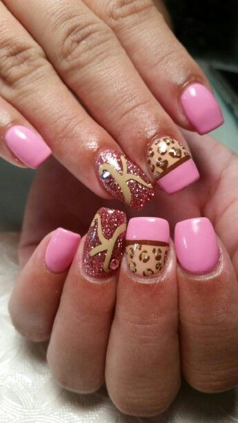 Birth Nails To Match Her Nursery Nail Designs Finger