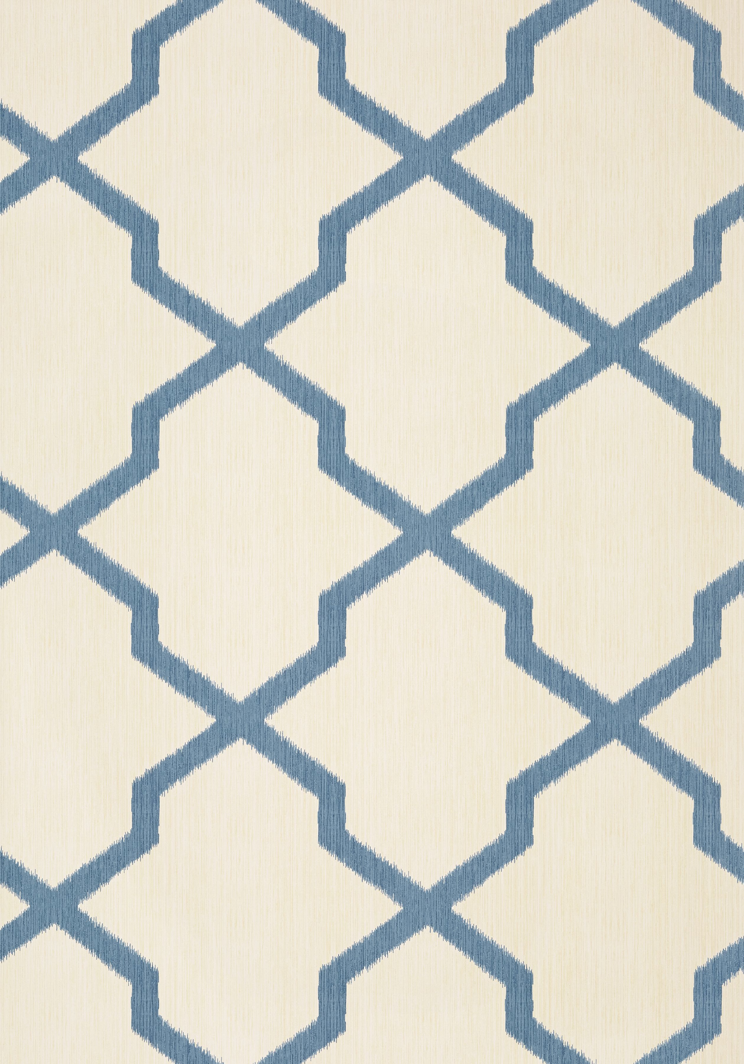 Myanmar Trellis Navy T36136 Collection Enchantment From Thibaut