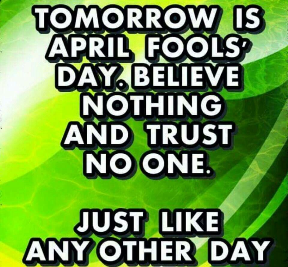 April Fool S Day You Had One Job Jokes Quotes Fun Quotes Funny