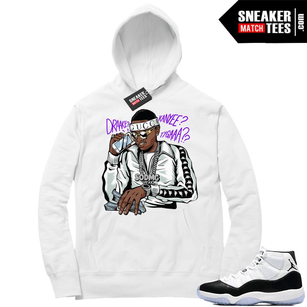 Soulja Boy Comeback Hoodie Jordan Sneaker Clothing Hoodies Hoodie Jordan Sneaker Match Tees