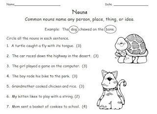 Proper Noun Worksheets 1st Grade - : Kristal Project Edu #%hash%