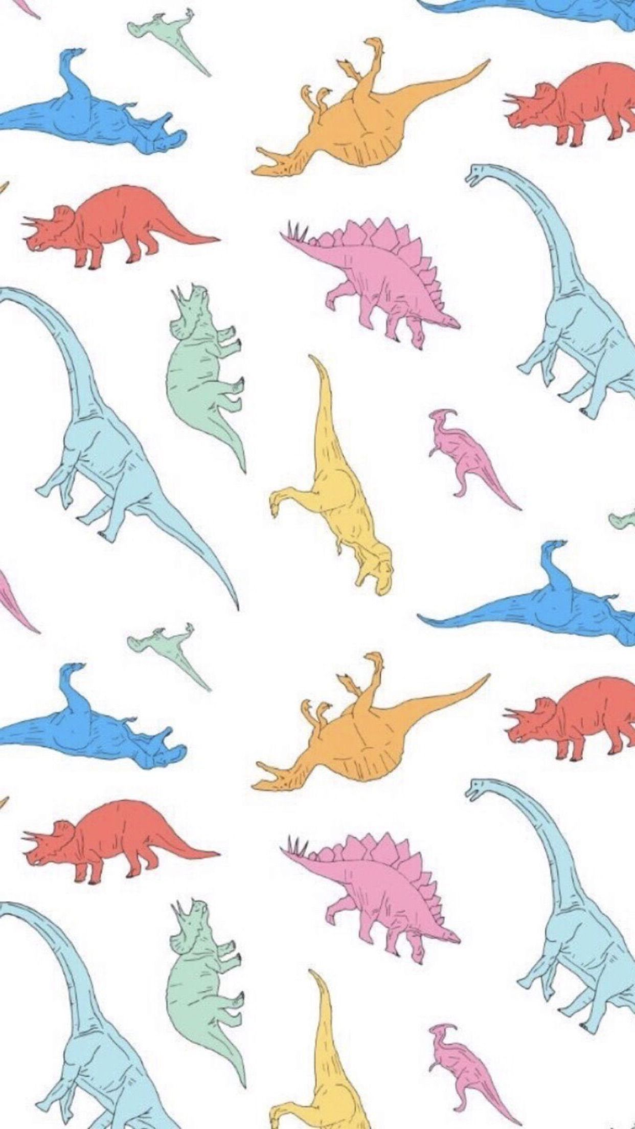 Cute Dinosaur Wallpaper For Mobile Phone Tablet Desktop Computer And Other Devices Hd And 4k Wallpapers In 2021 Dinosaur Wallpaper Cute Dinosaur Dinosaur